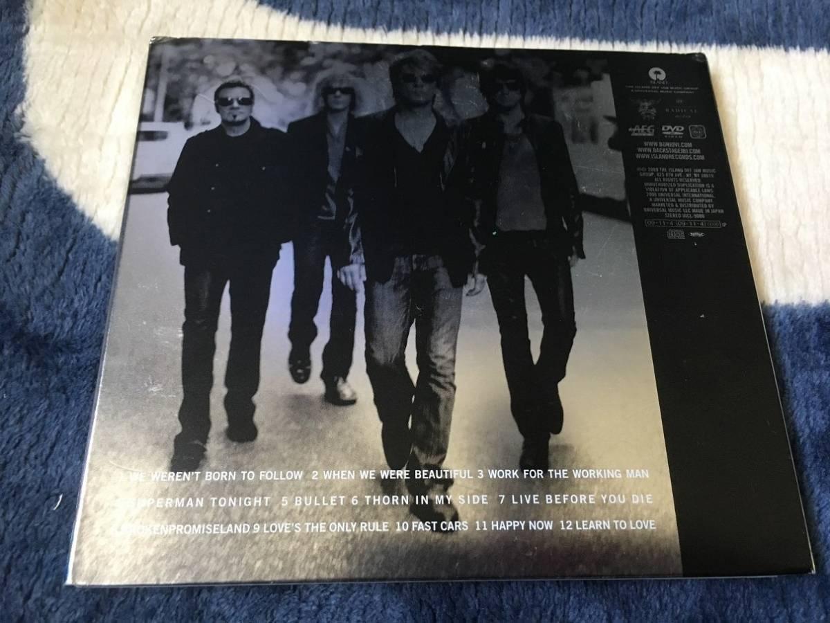 【日本盤CD+DVD:UICL-9080】BON JOVI,ボン・ジョヴィ/The Circle,ザ・サークル~デラックス・エディッション(帯なし)_画像2