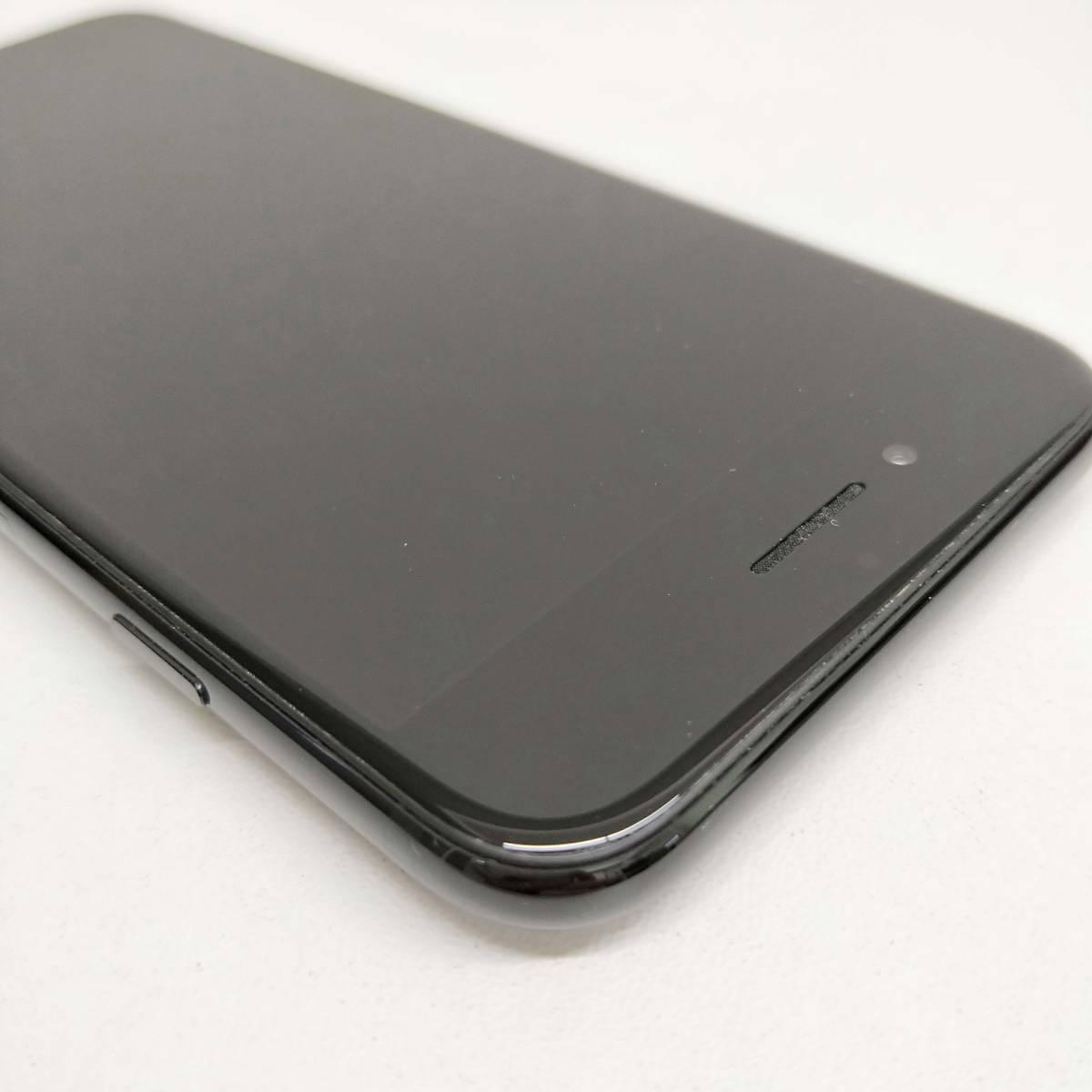 SIMフリー iPhone 7 128GB Jet Black 美品 バッテリー85% <本体のみ> #051_画像6