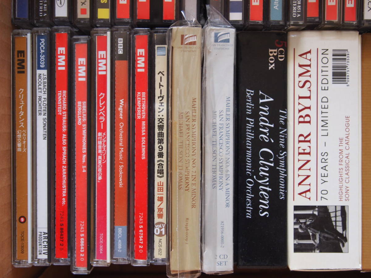 クラシックCDいろいろ~まとめてセット(56組)中古品-Bセット~クレンペラー、テンシュテット、スヴェトラーノフ他_画像5