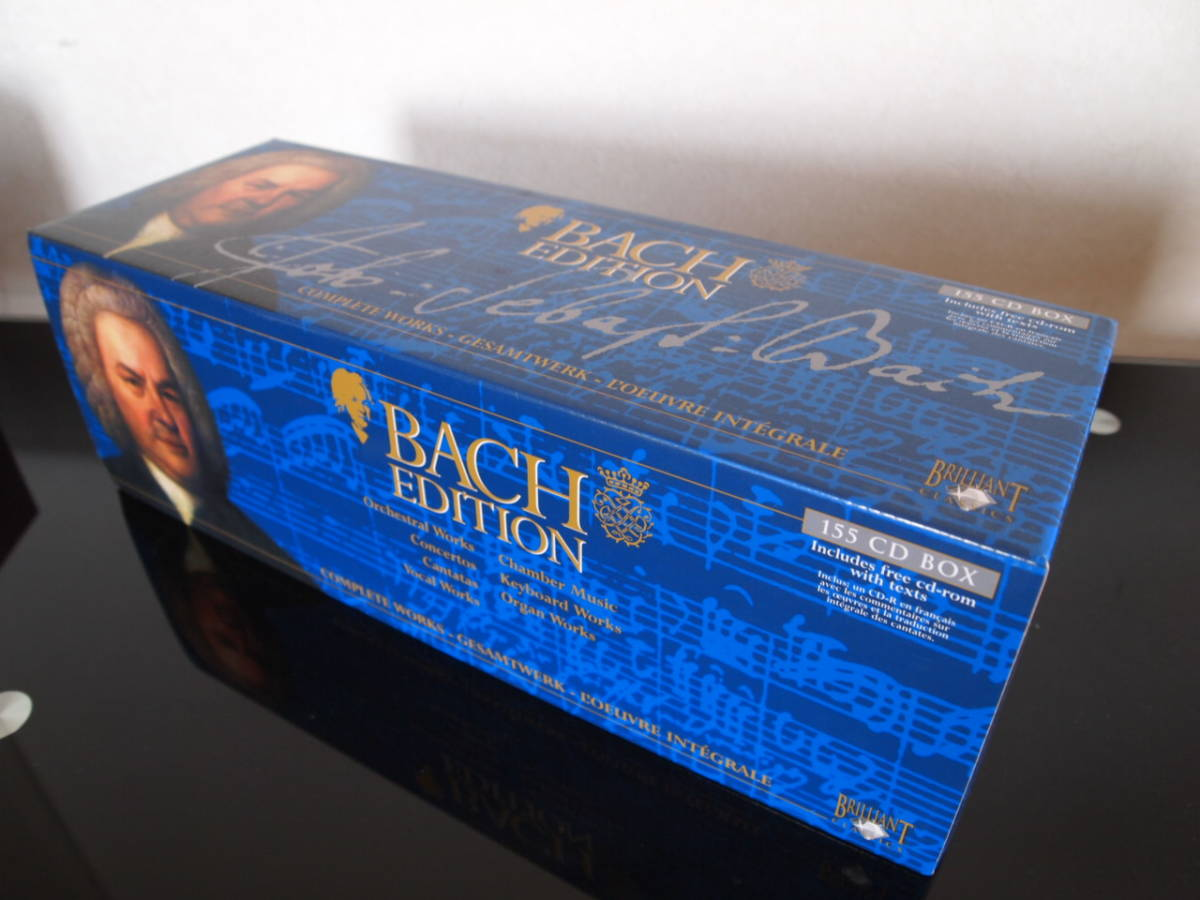 BACH EDITION バッハ大全集(155CD+CD-ROM)中古