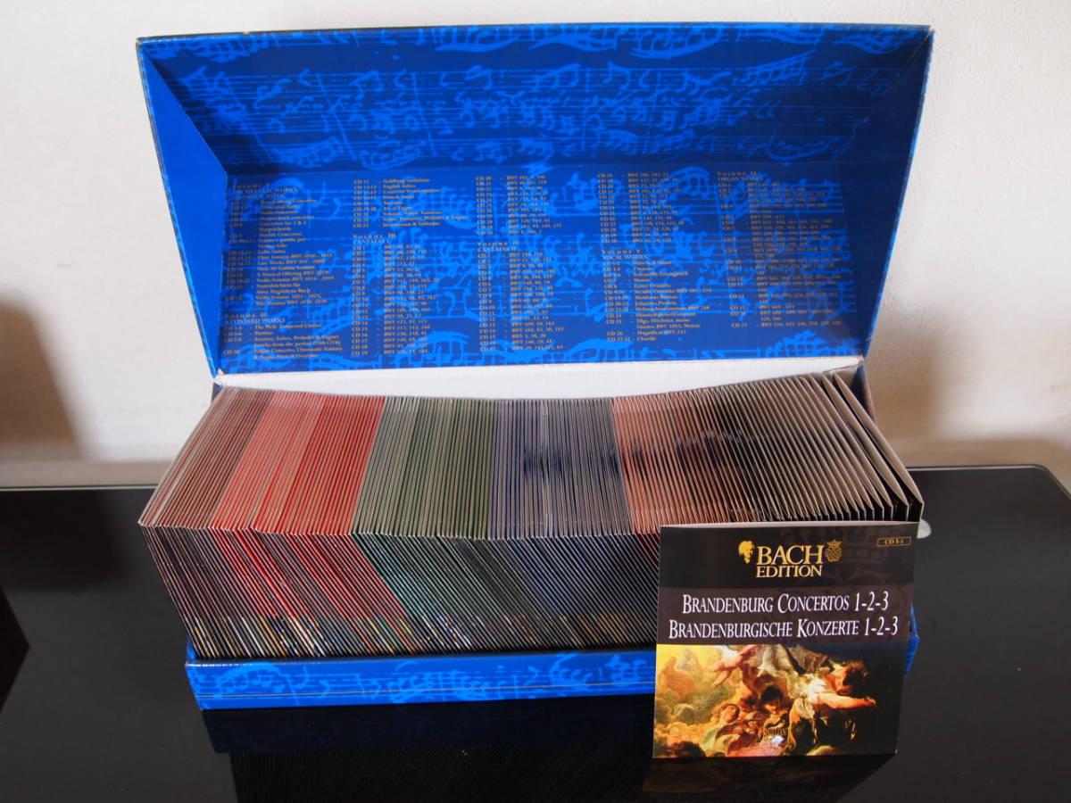 BACH EDITION バッハ大全集(155CD+CD-ROM)中古_画像3