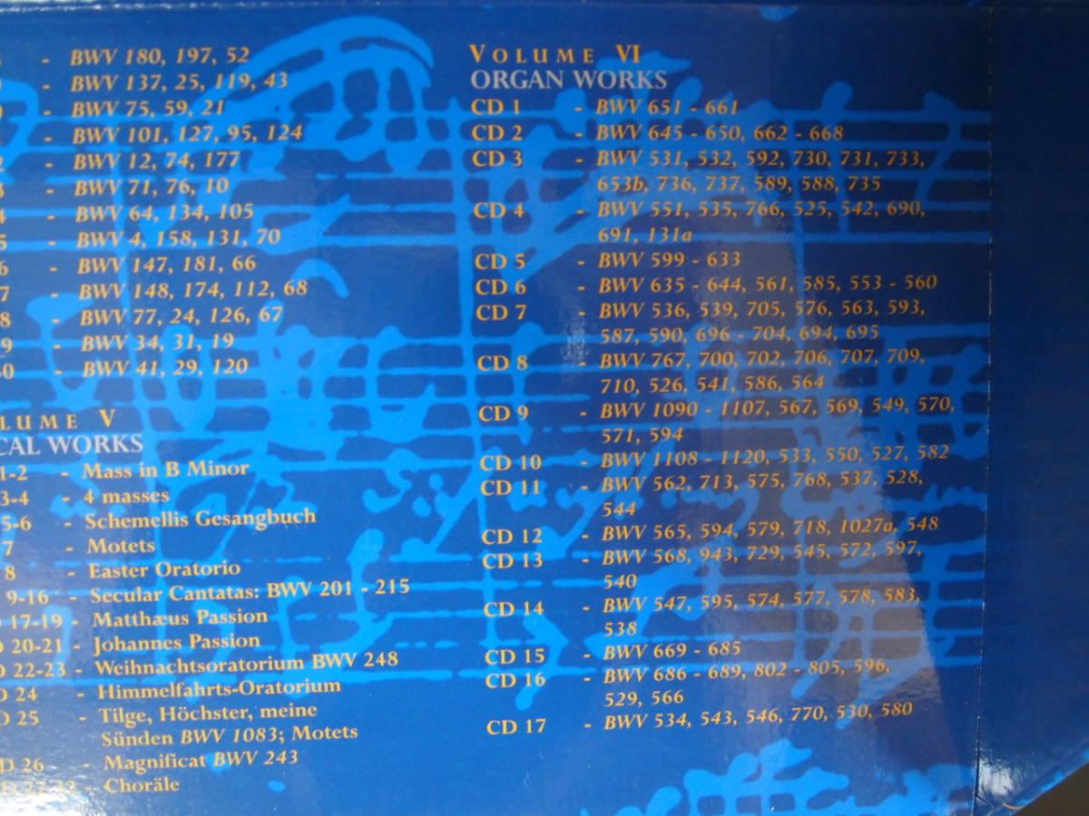 BACH EDITION バッハ大全集(155CD+CD-ROM)中古_画像6