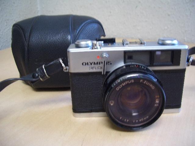 オリンパス 35DC フイルムカメラ ケース付き 美品
