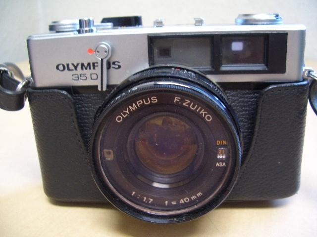 オリンパス 35DC フイルムカメラ ケース付き 美品_画像2