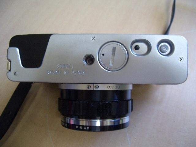 オリンパス 35DC フイルムカメラ ケース付き 美品_画像6