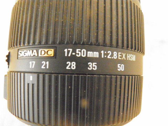 SIGMA シグマ 17-50mm F2.8 EX DC OS HSM for Canon キャノン用_画像3