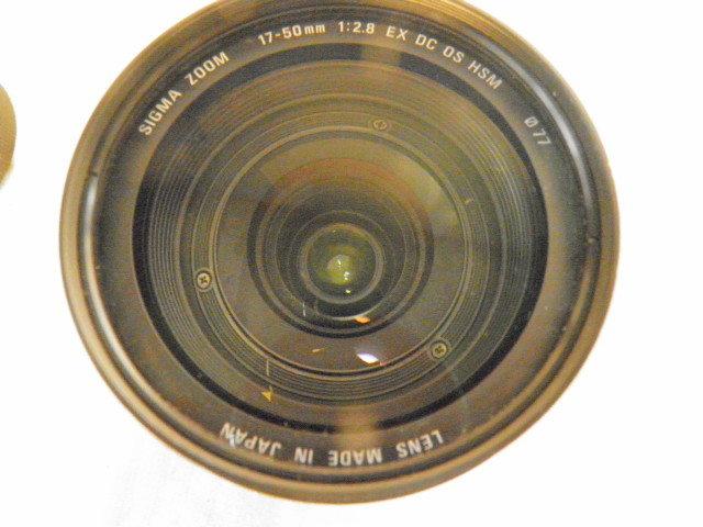 SIGMA シグマ 17-50mm F2.8 EX DC OS HSM for Canon キャノン用_画像5