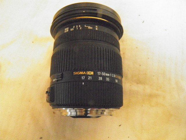 SIGMA シグマ 17-50mm F2.8 EX DC OS HSM for Canon キャノン用_画像7