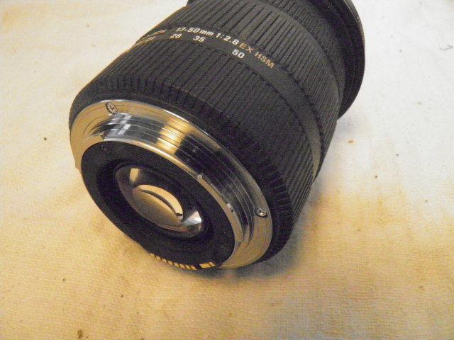 SIGMA シグマ 17-50mm F2.8 EX DC OS HSM for Canon キャノン用_画像8