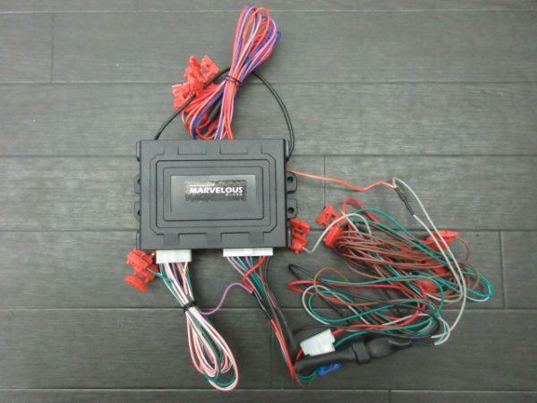ほぼ未使用 コムエンタープライズ マーベラス500 ショックセンサーキット セキュリティ キーホルダータイプ ハイエース 200系 前期 1~4型_画像7