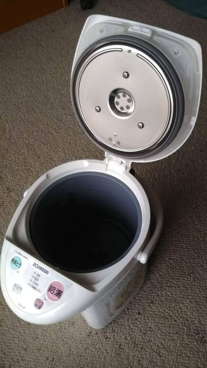 ピーターラビット 象印 マイコン沸とう電動ポット CD-JP22PR型 未使用_画像4