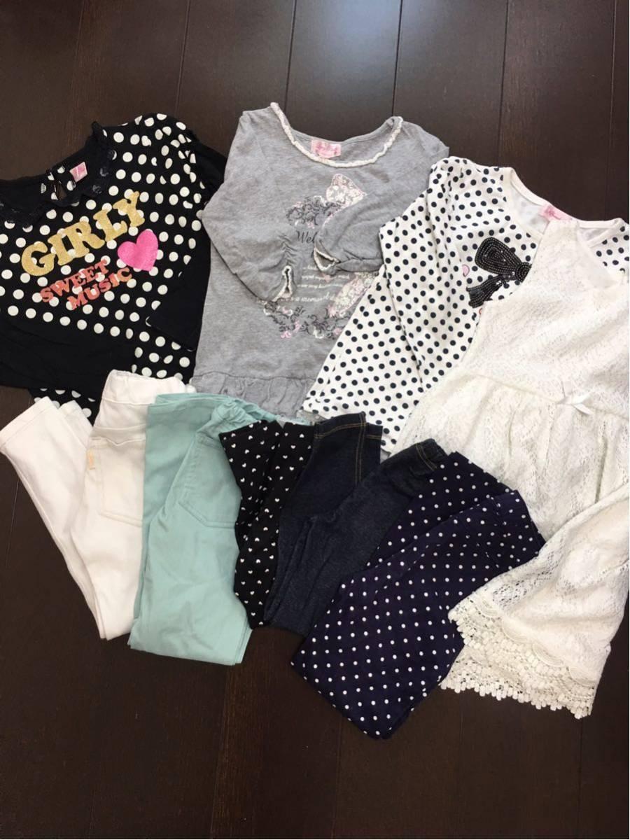 女子洋服まとめ売り 120-130サイズ_画像4