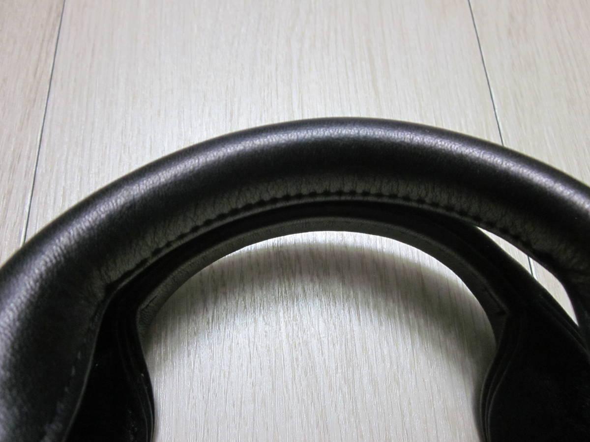 美品 TUMI トゥミ 96111 DH ALPHA スリム・ラージ・スクリーン・レザー・ポートフォリオ・ブリーフ 書類かばん ブラック 黒_画像2