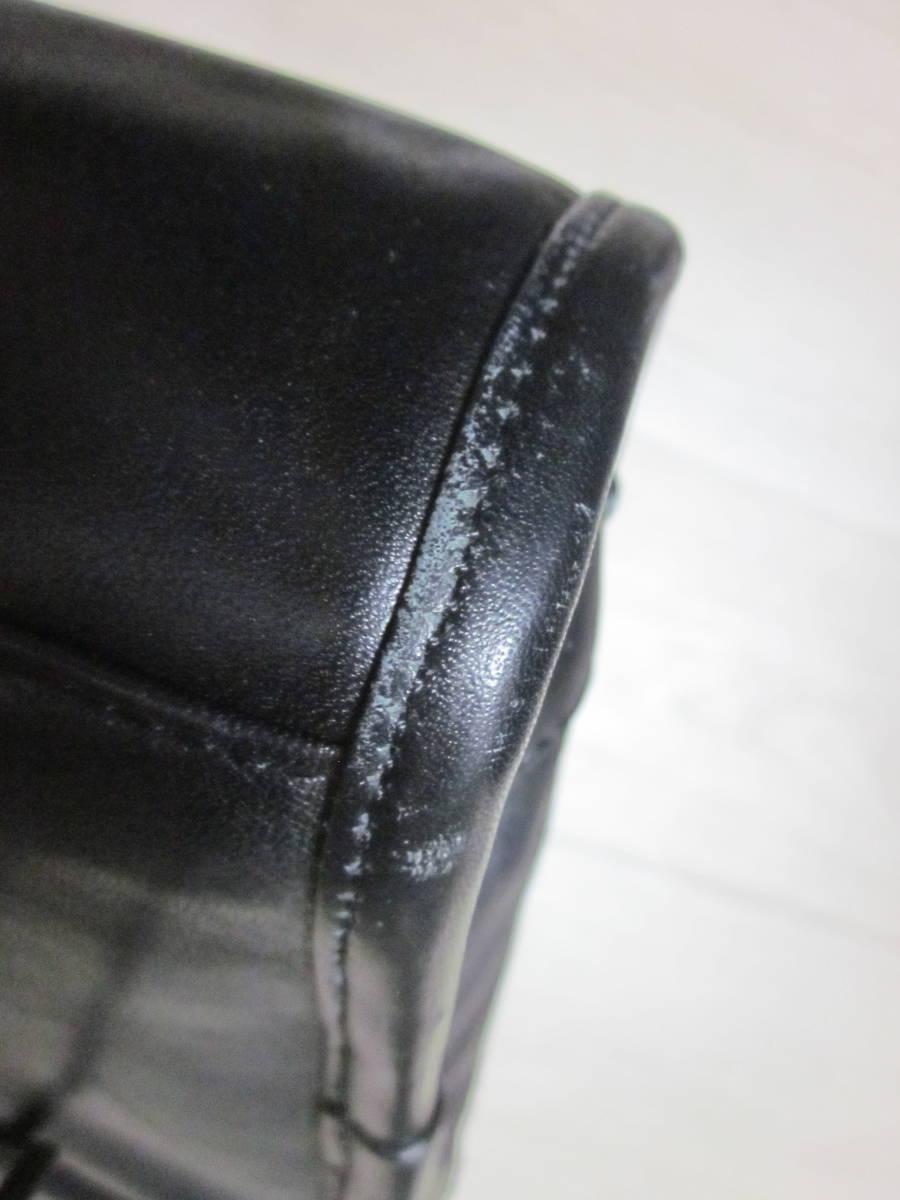 美品 TUMI トゥミ 96111 DH ALPHA スリム・ラージ・スクリーン・レザー・ポートフォリオ・ブリーフ 書類かばん ブラック 黒_画像8