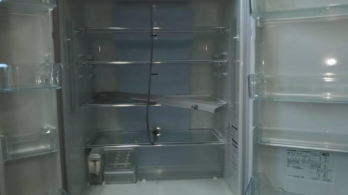 直接引取可能 パナソニックトップユニット外して洗える製氷皿冷蔵庫 NR-FTF456_画像2