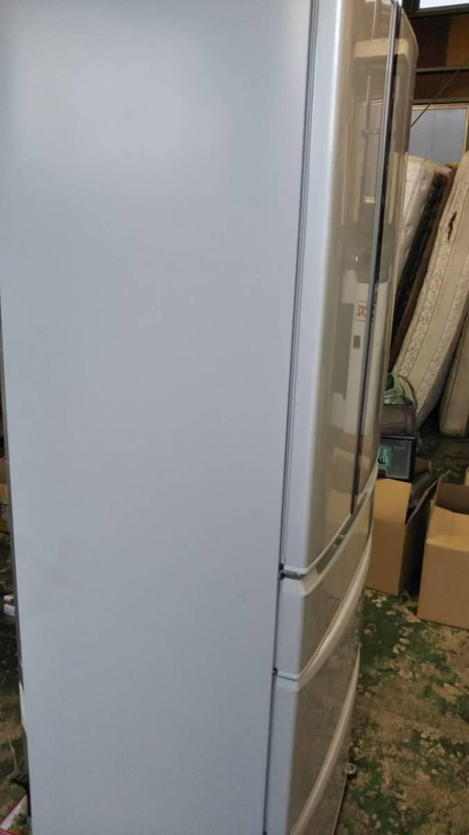 直接引取可能 パナソニックトップユニット外して洗える製氷皿冷蔵庫 NR-FTF456_画像9
