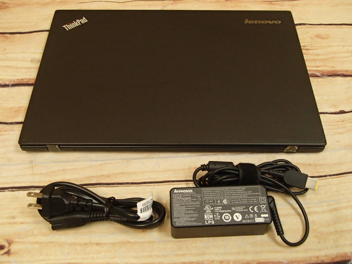 ●Lenovo ThinkPad T440s 20ARA19VJP●Core i5-4200U/4GB/500GB/14.0インチ/ジャンク●_画像9