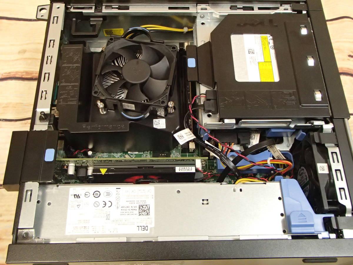 ■DELL OptiPlex 9020 SFF■Core i7-4770/4GB/500GB/Radeon HD 8570/DVDスーパーマルチ/ジャンク■_画像8