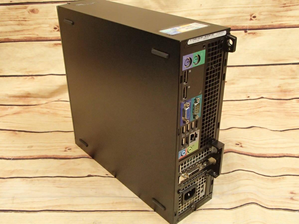 ■DELL OptiPlex 9020 SFF■Core i7-4770/4GB/500GB/Radeon HD 8570/DVDスーパーマルチ/ジャンク■_画像9