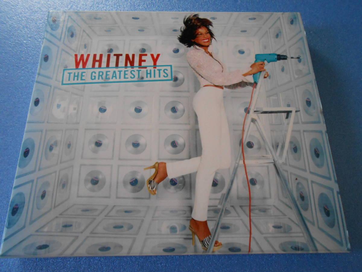 CD ◆ホイットニー・ヒューストン 「ザ・グレイテスト・ヒッツ」 2枚組   ◆国内盤   管理A_画像1