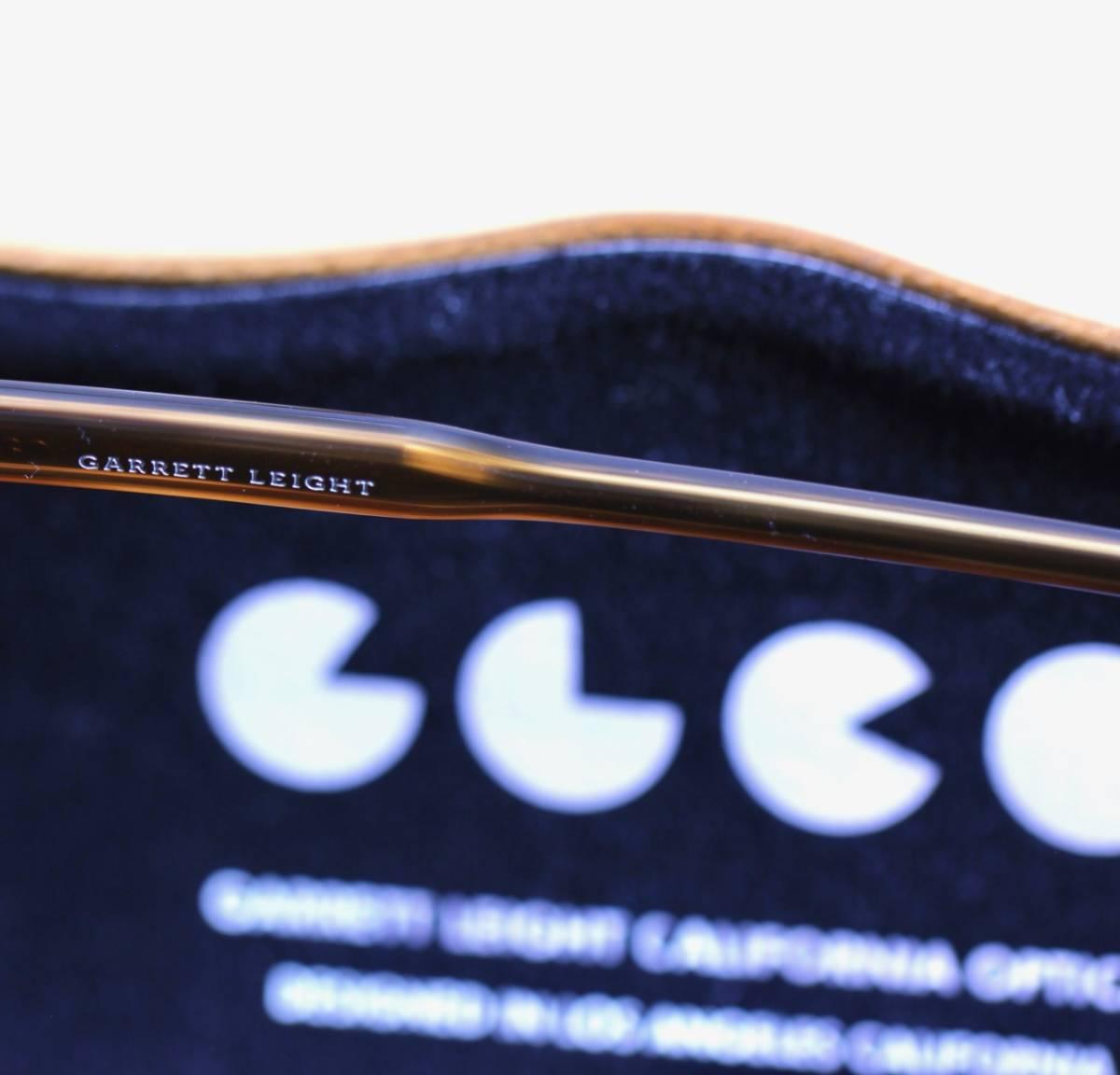 GLCO ギャレットレイト Hampton 44 眼鏡/サングラス兼用セルフレーム(GARRETT LEIGHT California Optical/オリバーピープルズ系列ブランド)_画像6