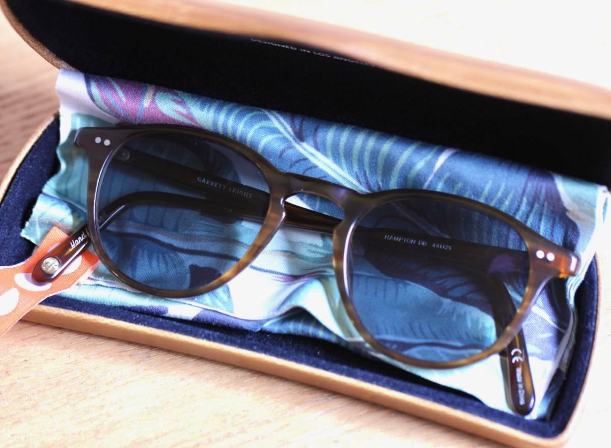 GLCO ギャレットレイト Hampton 44 眼鏡/サングラス兼用セルフレーム(GARRETT LEIGHT California Optical/オリバーピープルズ系列ブランド)_画像4