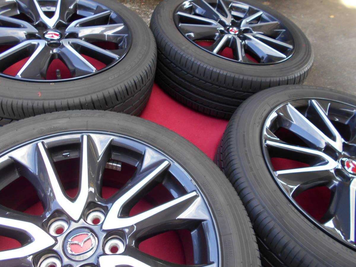 ★超極上 バリ山 マツダ CX-3純正タイヤセット MPV アテンザスポーツなどに_画像3