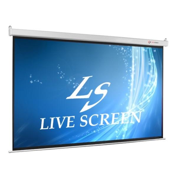 LIVE SCREEN 16:9 130インチ 電動格納 プロジェクタースクリーン ホームシアター EPSON ACER BENQ_画像1