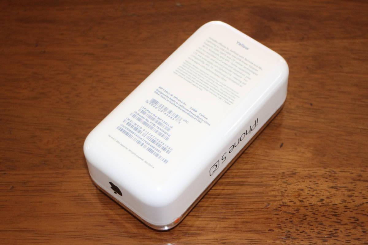 ☆新品同様・未開封☆ アップル Apple iPhone 5c 32GB A1532 イエロー SIMフリー 並行輸入品 日本語完全対応 _画像2