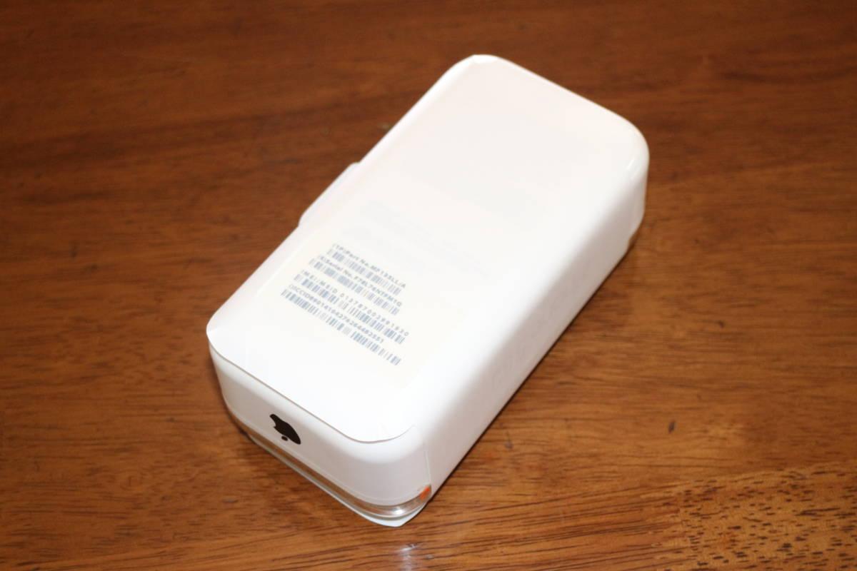 ☆新品同様・未開封☆ アップル Apple iPhone 5c 32GB A1532 イエロー SIMフリー 並行輸入品 日本語完全対応 _画像4