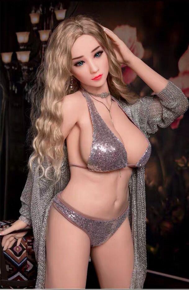 業所止め可能 秘密発送 最新型リアルドール TPE製 巨乳 素敵な彼女 鮮明な外観 158女性のボディモデル ラブドール 3ホール _画像3
