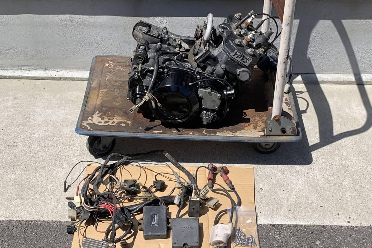 RZ350R (29K) エンジン スタンダードボア 1万円スタート! 売り切り!