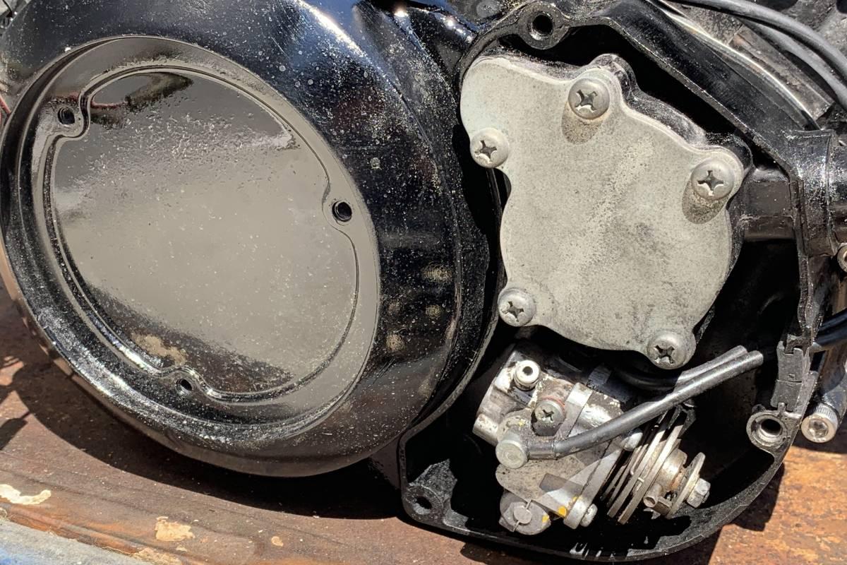 RZ350R (29K) エンジン スタンダードボア 1万円スタート! 売り切り!_画像8