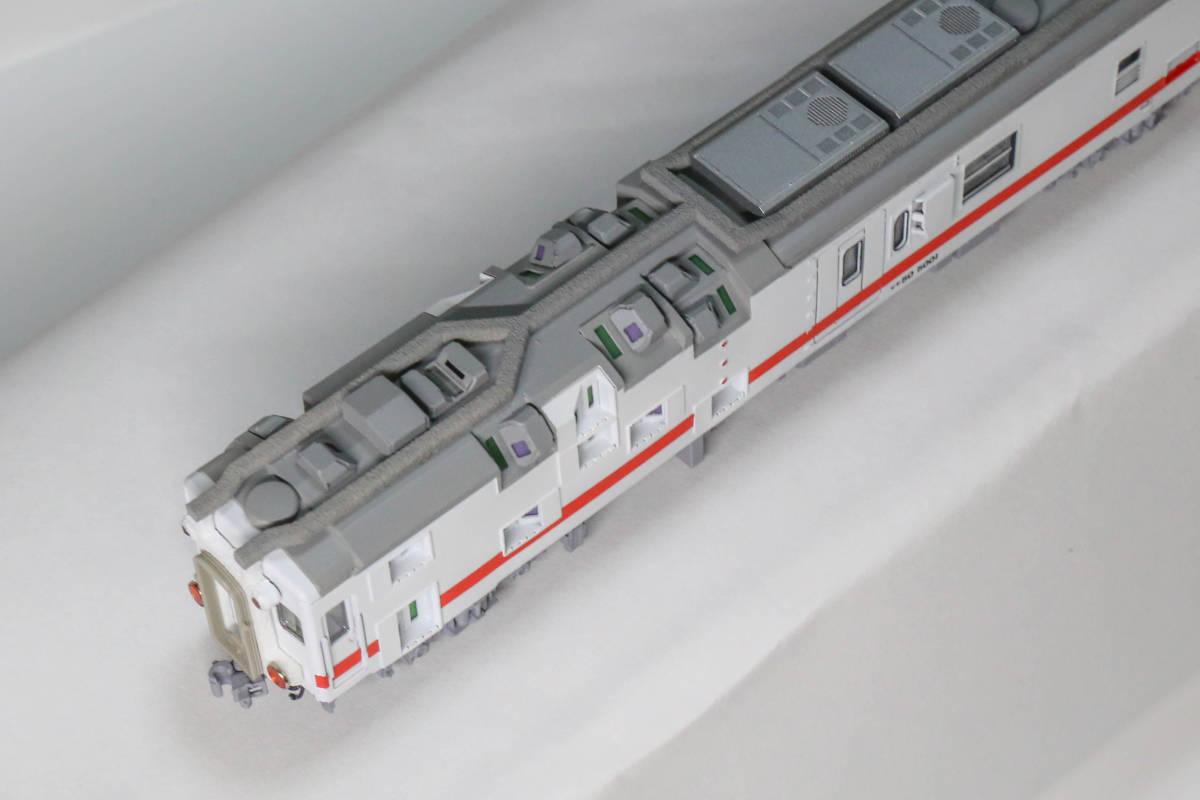 建築限界測定車 マヤ50 5001 コンバージョンキットベース加工品_画像3