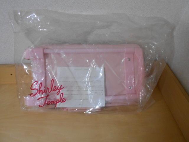 シャーリーテンプル ノベルティ カート付きキャリーバック 水玉 未使用 2003年_画像7