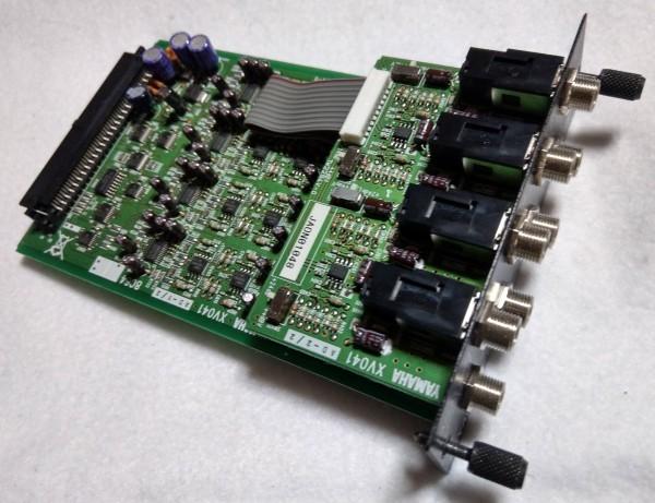 MY8-AD24 ヤマハ8ch アナログ入力カード Mini-YGDAIカード (動作確認済) DME64N,DME24N,O1V,LS9等に_画像2