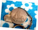 * Showa Retro factory .. key holder Nikko kerosene Japan . industry silver made silver 1960 period 1970 period not for sale enterprise thing