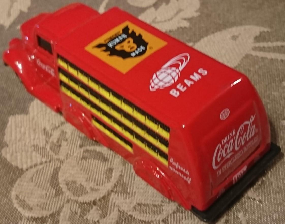 企業ノベルティ NIGO BEAMS HUMAN MADE Coca Cola コカ・コーラ 1937 Bottle Truck 1/87 MOTOR CITY CLASSICS 箱入り未使用保管品 激レア_画像10