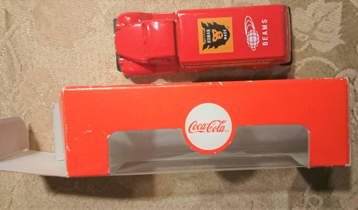 企業ノベルティ NIGO BEAMS HUMAN MADE Coca Cola コカ・コーラ 1937 Bottle Truck 1/87 MOTOR CITY CLASSICS 箱入り未使用保管品 激レア_画像2