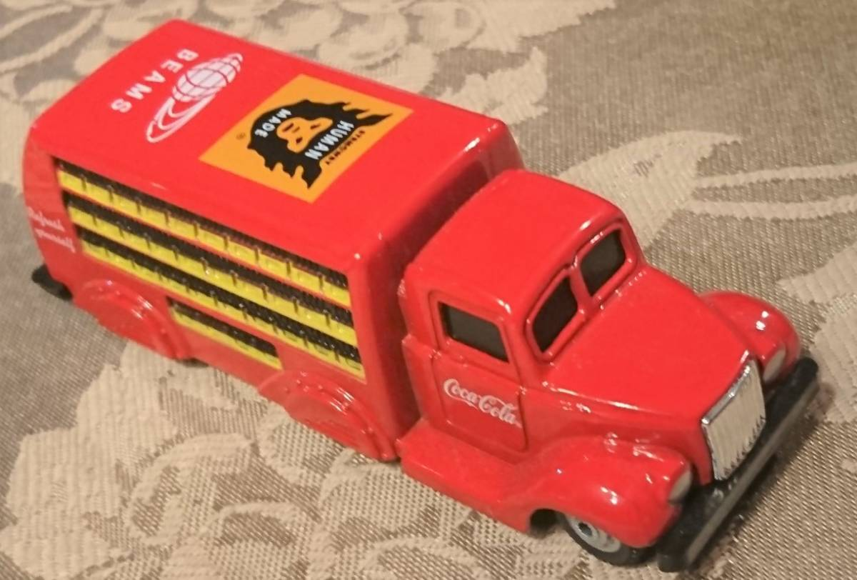 企業ノベルティ NIGO BEAMS HUMAN MADE Coca Cola コカ・コーラ 1937 Bottle Truck 1/87 MOTOR CITY CLASSICS 箱入り未使用保管品 激レア_画像9
