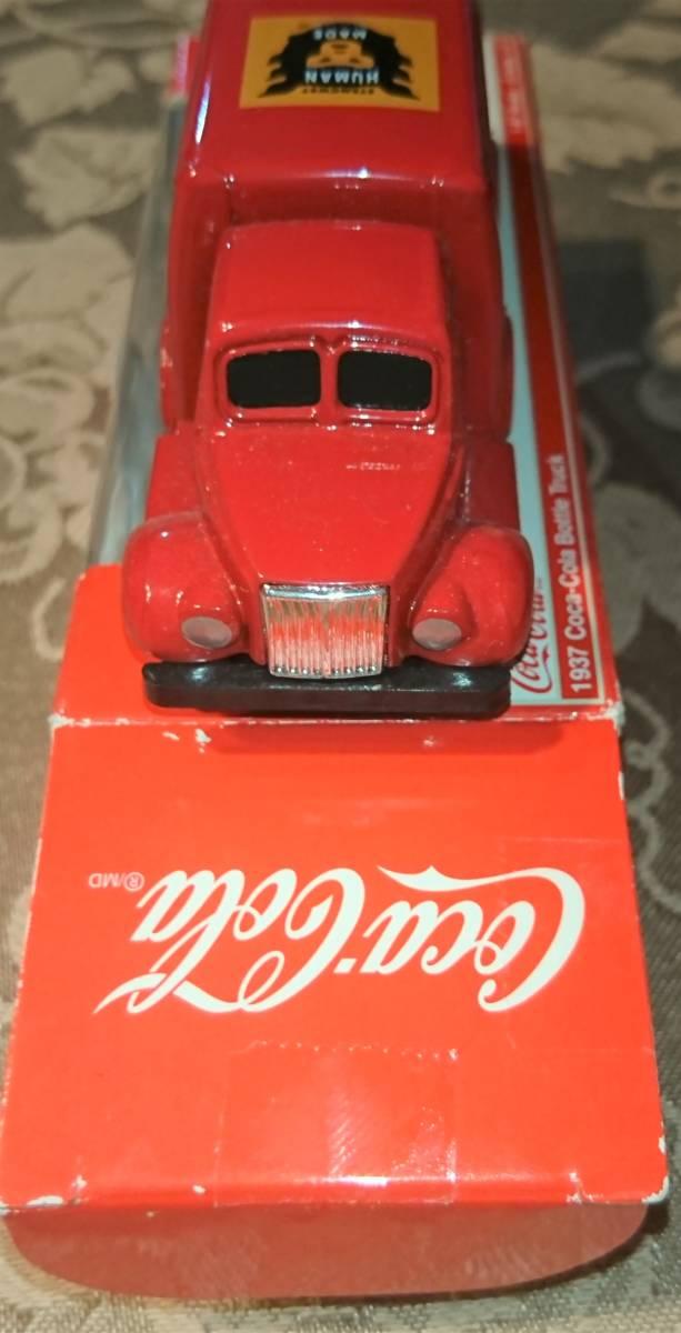 企業ノベルティ NIGO BEAMS HUMAN MADE Coca Cola コカ・コーラ 1937 Bottle Truck 1/87 MOTOR CITY CLASSICS 箱入り未使用保管品 激レア_画像6