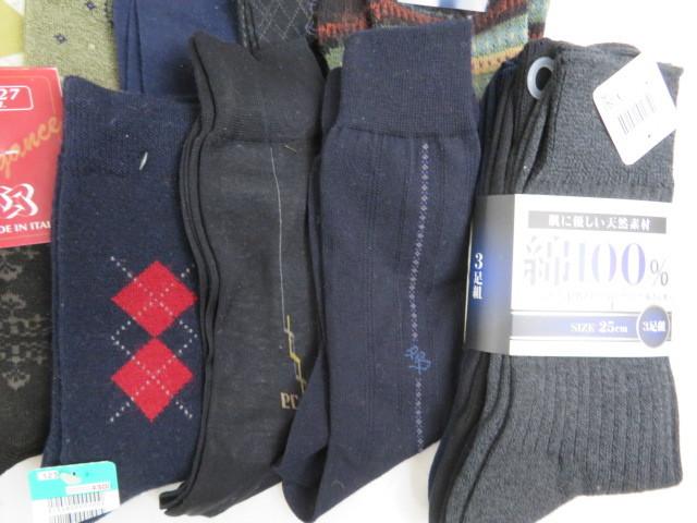 Y190522 ☆★ 【未使用】 紳士 男性用 ソックス 靴下 おまとめ  ★☆_画像9