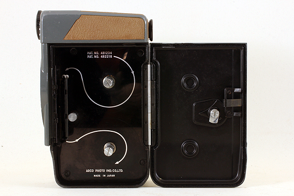 【動作可能な現状品♪】 ARCO EIGHT 8 DELUXE D-Mount 484 アルコ写真工業 アルコエイトデラックス 8mmフィルム映写機カメラ ダブル8規格_画像5