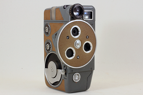 【動作可能な現状品♪】 ARCO EIGHT 8 DELUXE D-Mount 484 アルコ写真工業 アルコエイトデラックス 8mmフィルム映写機カメラ ダブル8規格_画像3