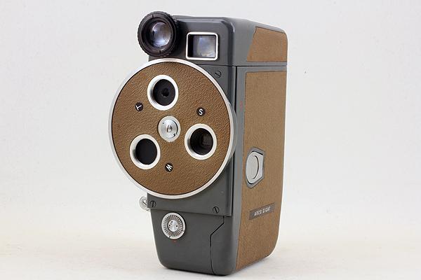 【動作可能な現状品♪】 ARCO EIGHT 8 DELUXE D-Mount 484 アルコ写真工業 アルコエイトデラックス 8mmフィルム映写機カメラ ダブル8規格