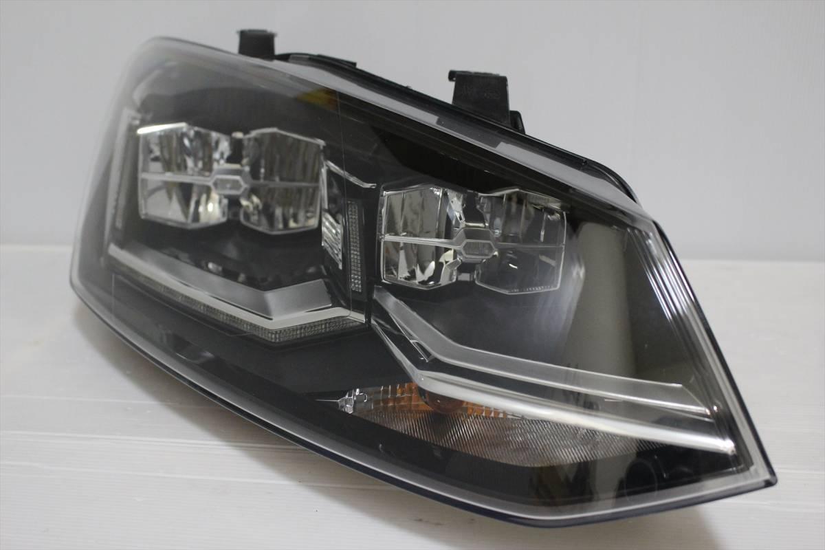 美品!!/割れ欠け無し!! VW POLO/ポロ 6R/6C/6RC 純正 右 LED ヘッドライト 6C2.941.774.B ヘッドランプ 6C2941774_画像2