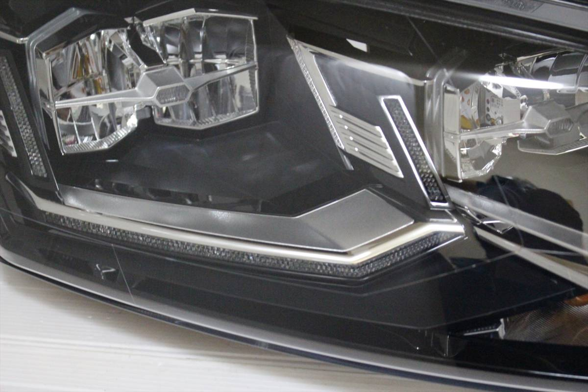 美品!!/割れ欠け無し!! VW POLO/ポロ 6R/6C/6RC 純正 右 LED ヘッドライト 6C2.941.774.B ヘッドランプ 6C2941774_画像5