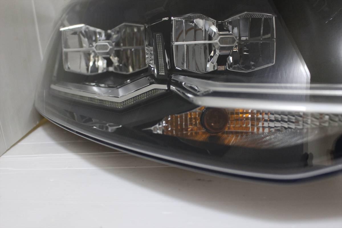 美品!!/割れ欠け無し!! VW POLO/ポロ 6R/6C/6RC 純正 右 LED ヘッドライト 6C2.941.774.B ヘッドランプ 6C2941774_画像7