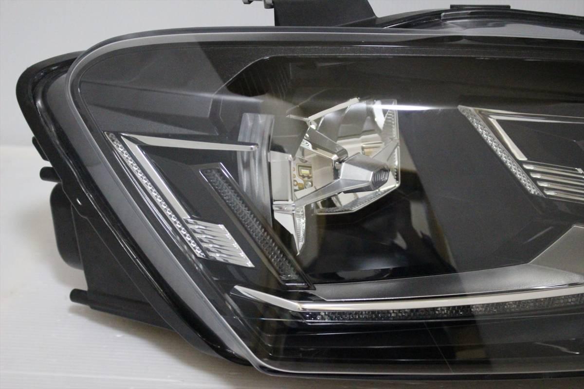 美品!!/割れ欠け無し!! VW POLO/ポロ 6R/6C/6RC 純正 右 LED ヘッドライト 6C2.941.774.B ヘッドランプ 6C2941774_画像4