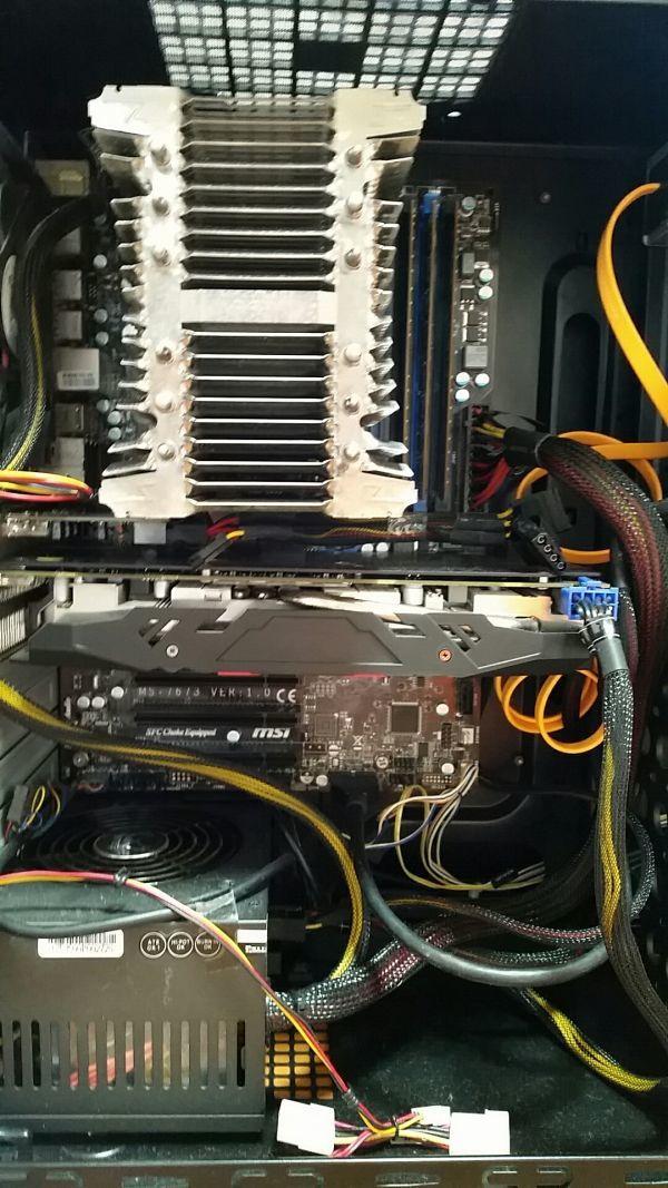 ☆ SSD 160GB + Radeon RX 470 4GB ファンレスクーラー 静音 自作 快適♪ すぐ使えます☆_画像2